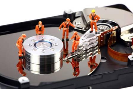Восстановление информации с жесткого диска